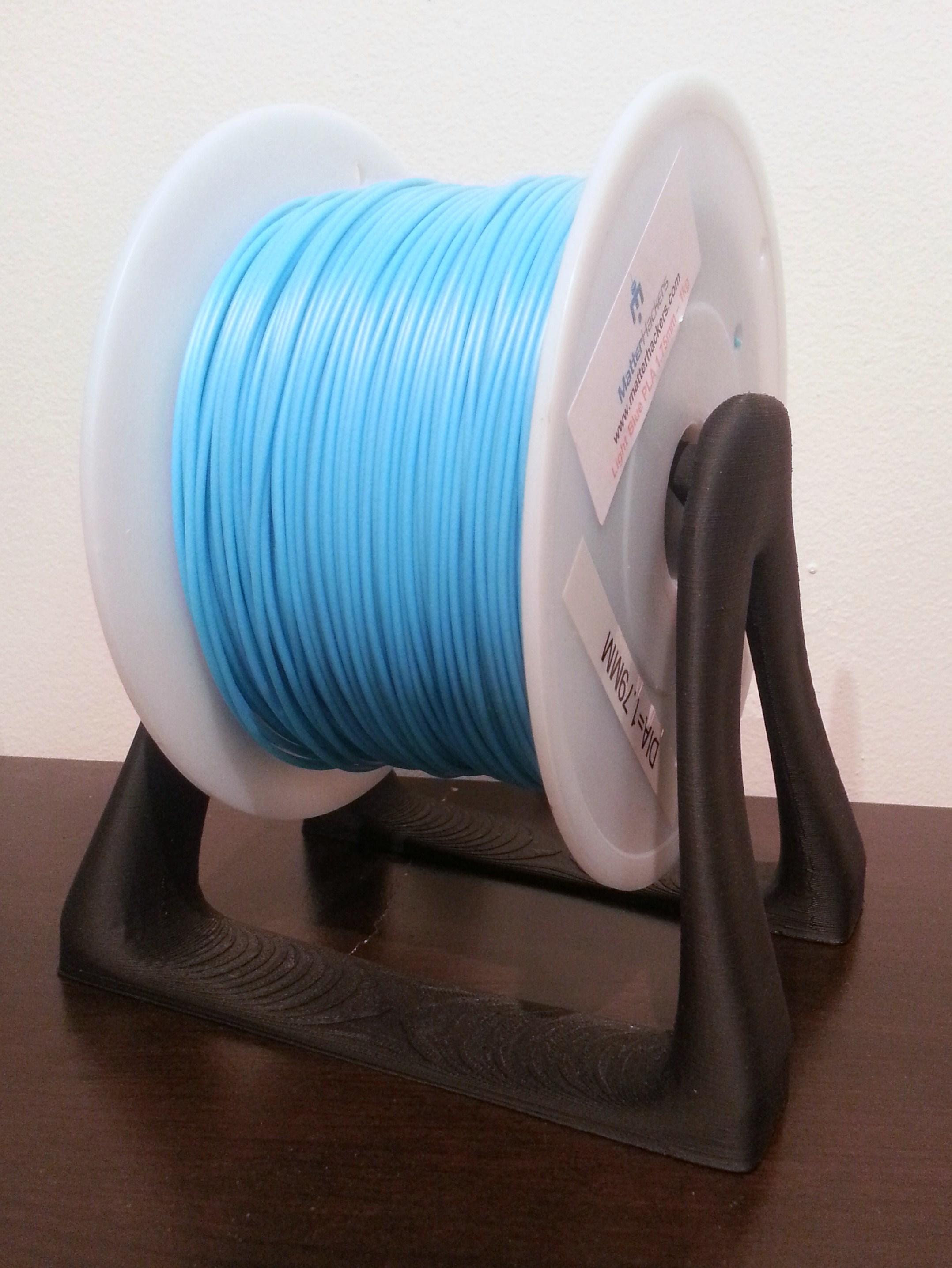 Filament Holder   Makergear M2 - 0.2mm layers - Black PLA