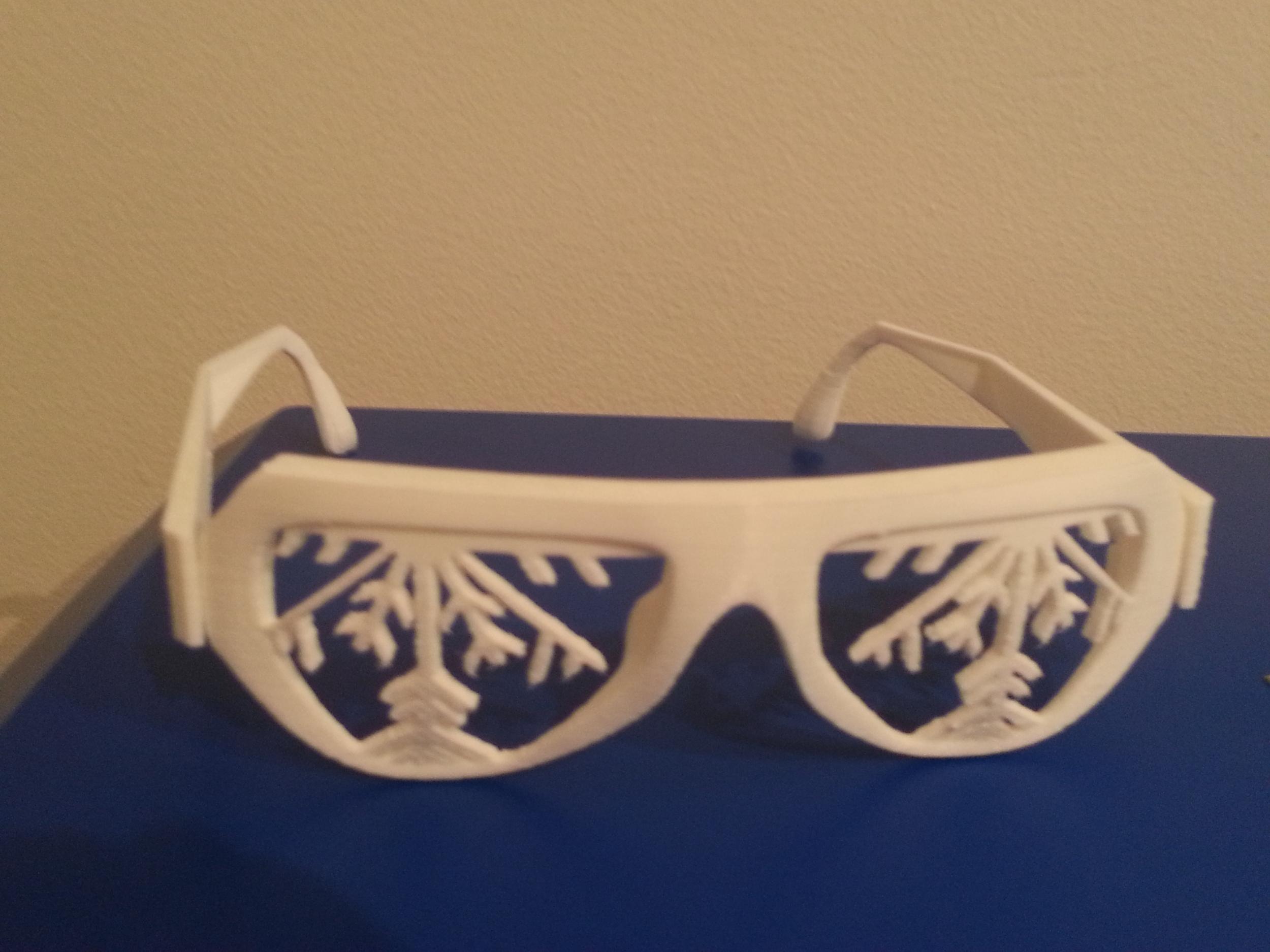 Snowflake Glasses