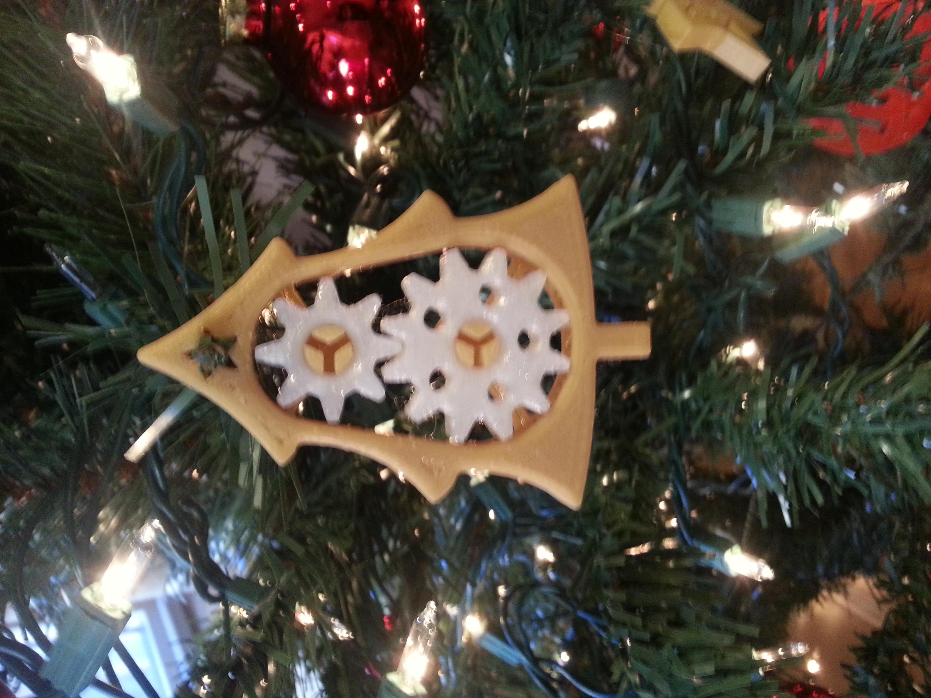 Gear Tree Ornament