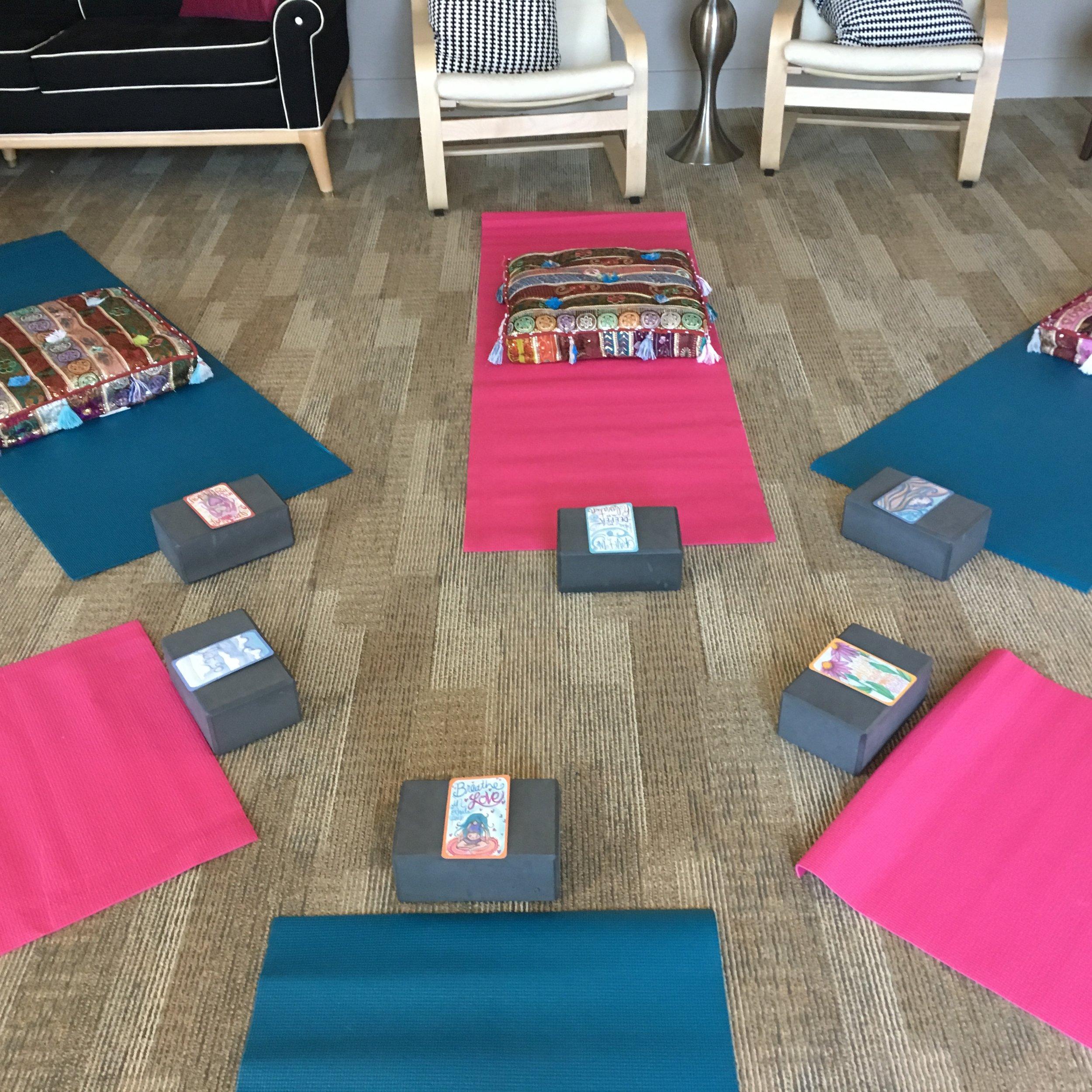 Yoga classes at Doulas of Las Vegas
