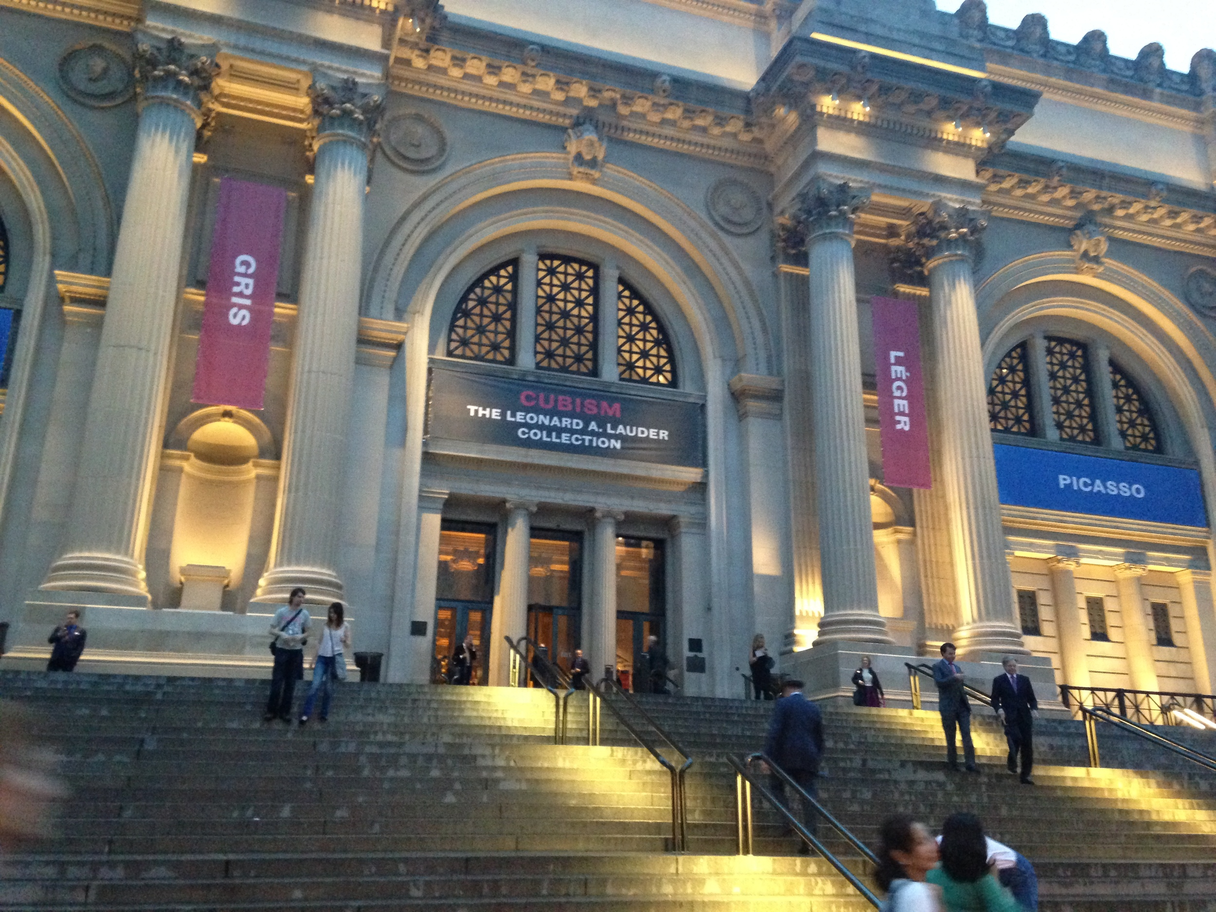 "A view of The Metropolitan Museum of Art as it hosts the opening reception for its newest exhibit ""Cubism: The Leonard A. Collection."""