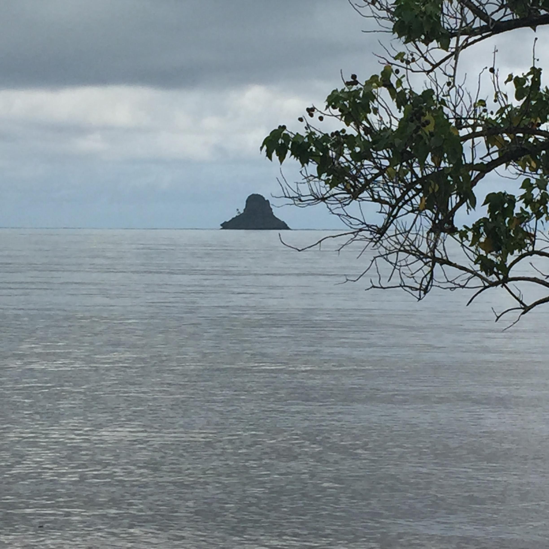 Mokoli'i island also known as Chinaman's Hat