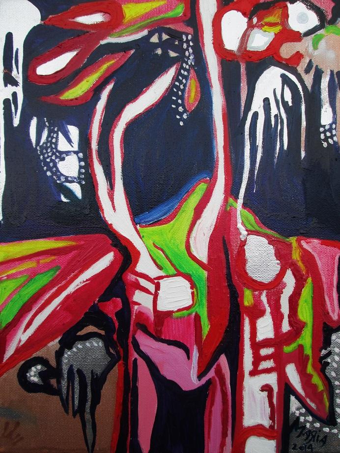 Painting, Maria Richardson