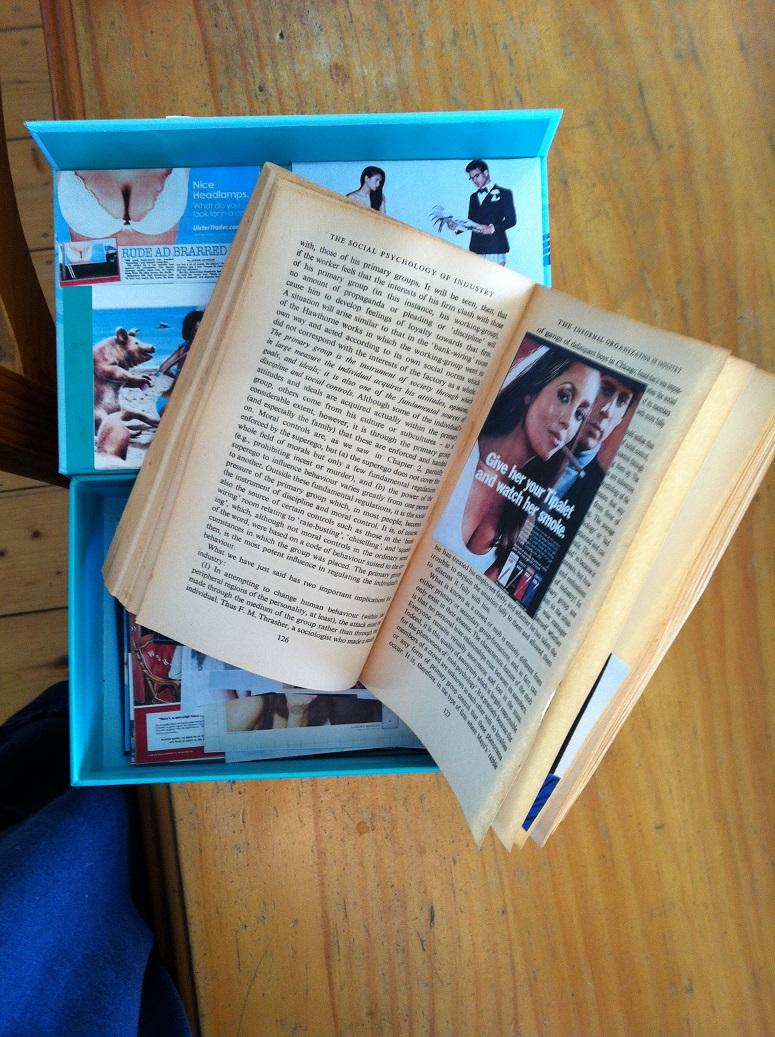 Artist book by Dij Vriens