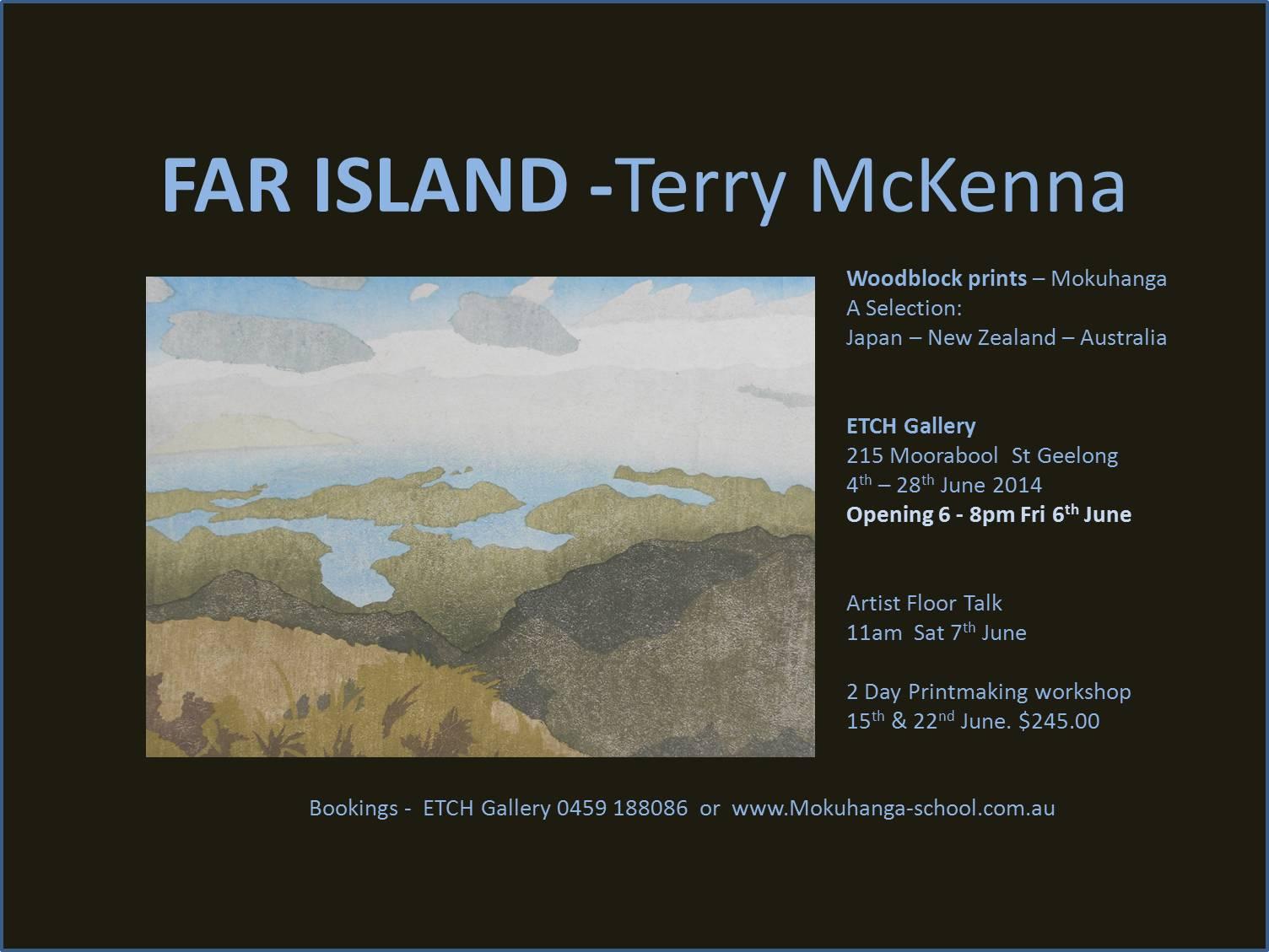 'Far Island' Terry McKenna Invite