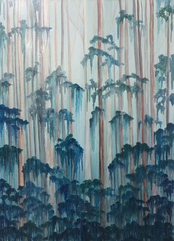 'OTWAYS 1' Oil on canvas, Robyn Mackay
