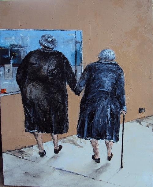 'Two Old Girls' Vicki Clissold