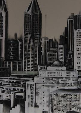 'Shanghai From My Window' Susan Rice-Bellmen