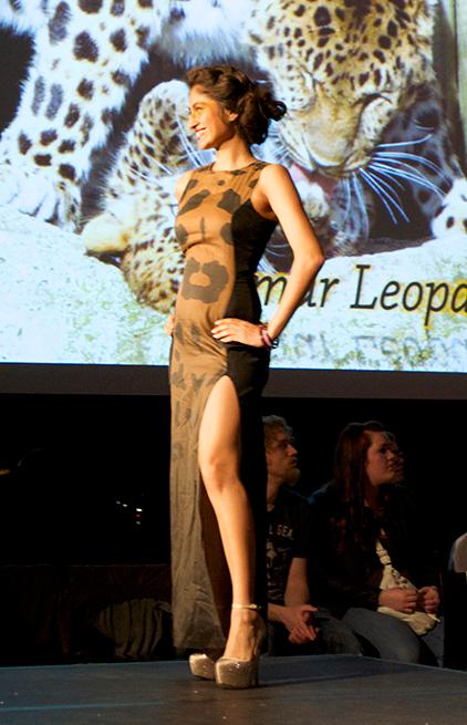 Amur Leopard  Designed by Althen Harper and Calle Evans