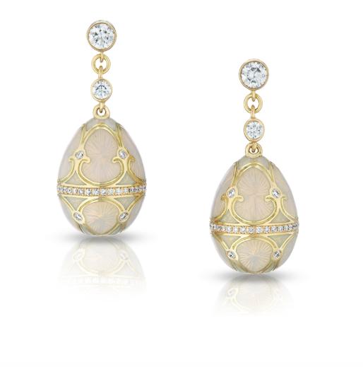 Palais Tsarskoye Selo Diamond Earrings