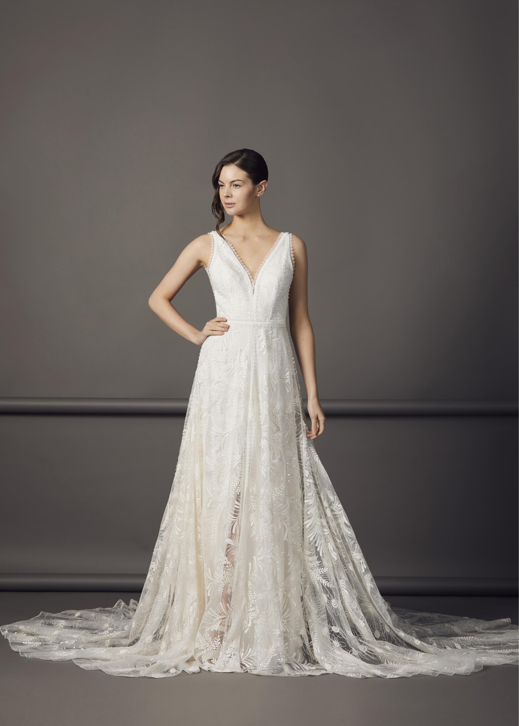 6000.52(BLUSH OR IVORY) - SAMARA DRESS
