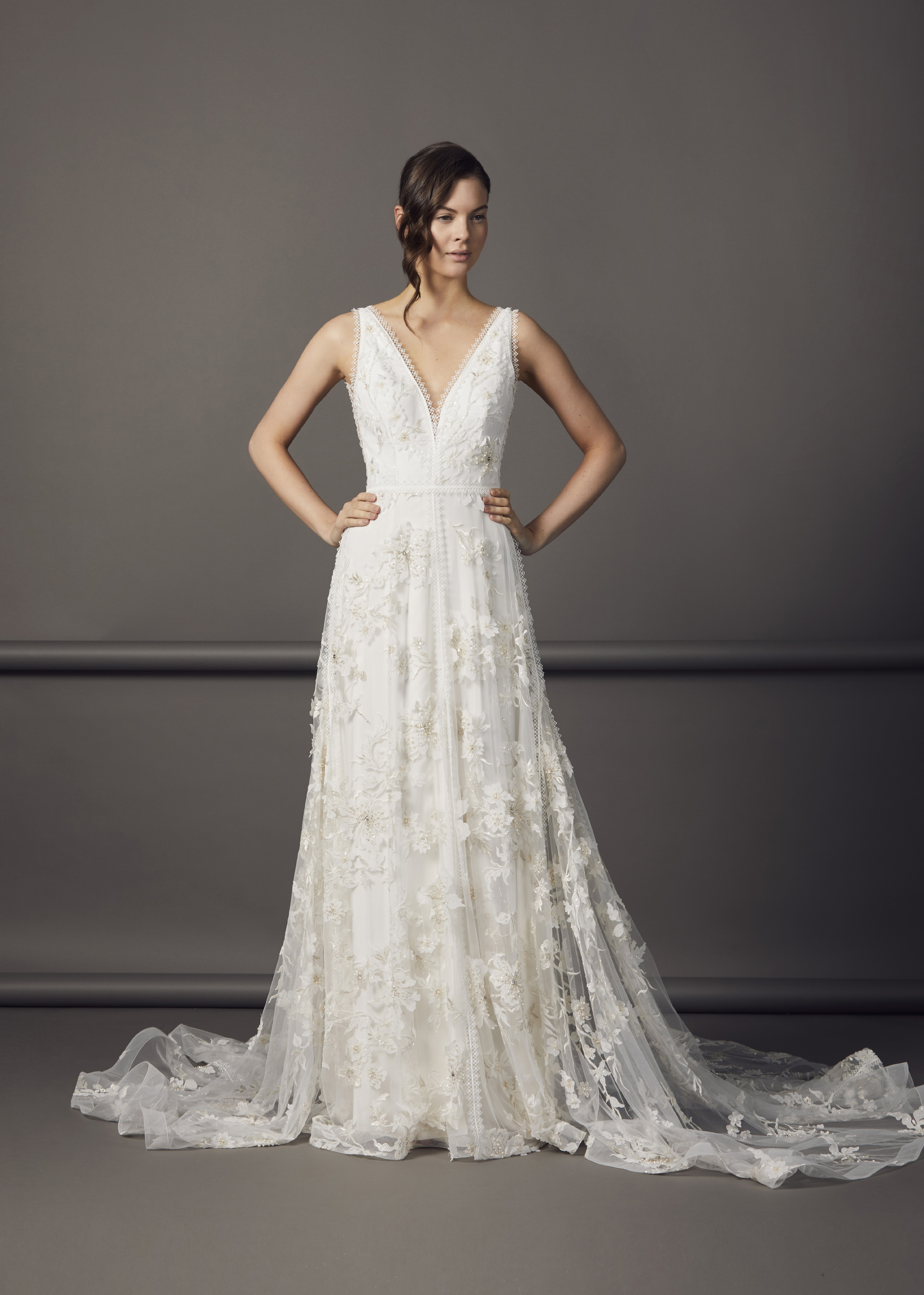 6000.19(IVORY-WHITE) - ZOLA DRESS