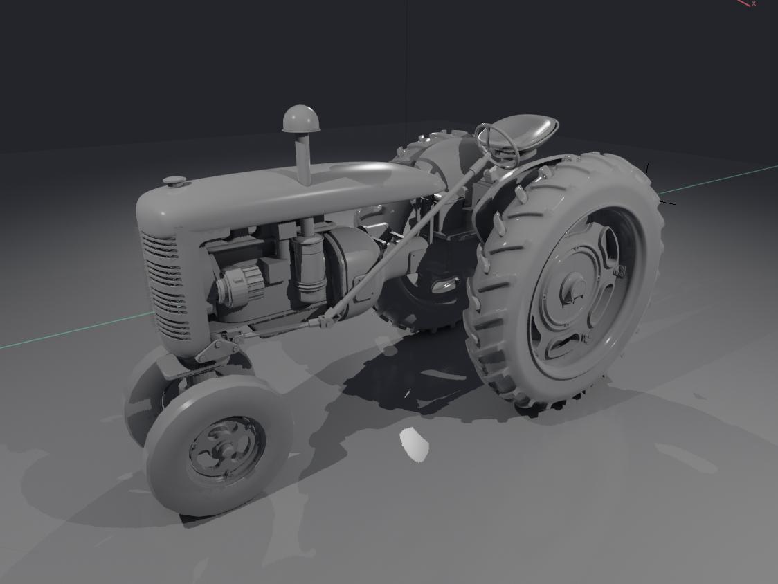 Ian Ameling W2 Tractor