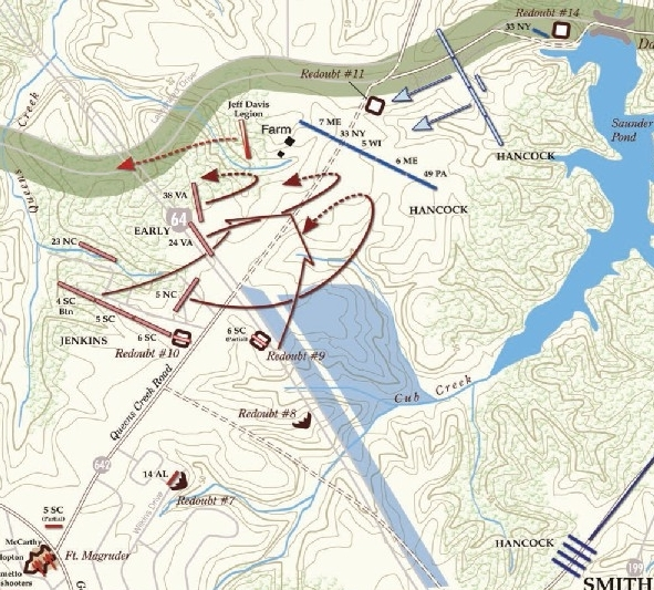 Map Courtesy of the  Civil   War   Trust,  www.civilwar.org