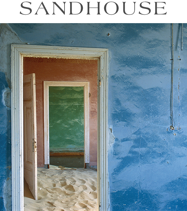 The Namib, the oldest desert on earth, preserves the exquisite corpse of the German West African diamond-mining town called Kolmanskop.