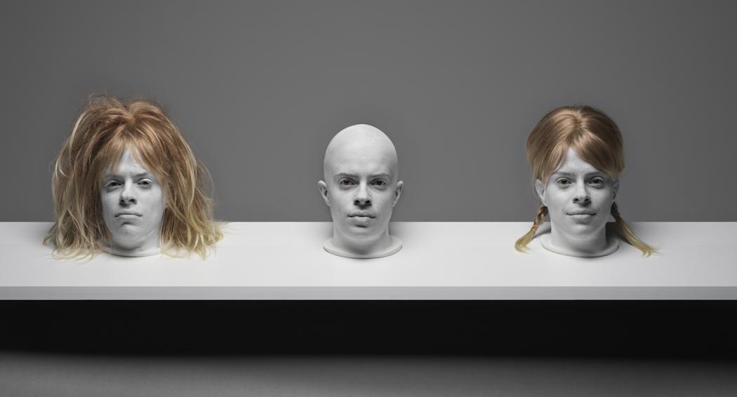 TRIIIBE creates the tableau, Shelf Life #2.Photo by TRIIIBEOriginal file number: Heads_060819_  0161
