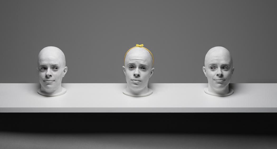 TRIIIBE creates the tableau, Shelf Life #3.Photo by TRIIIBEOriginal file number: Heads_060819_ 131