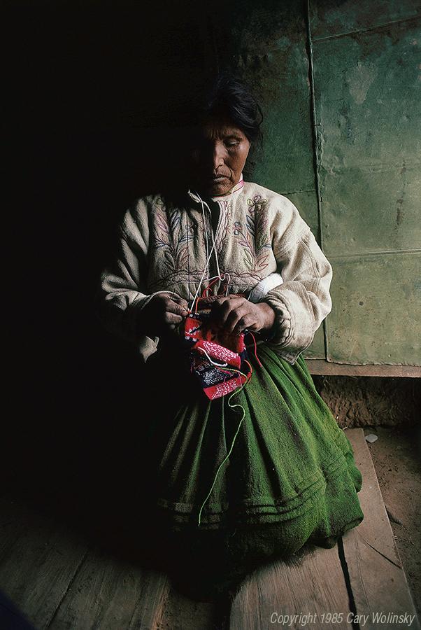 Peruvian Knitter