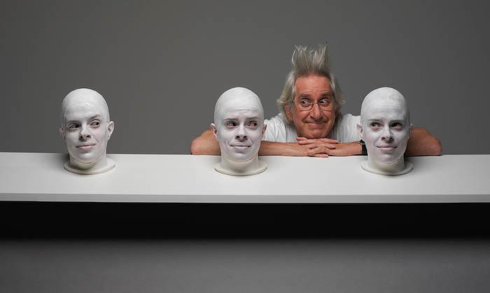 TRIIIBE creates the tableau, Shelf Life #1.Photo by TRIIIBEOriginal file number: Heads_060819_  0207