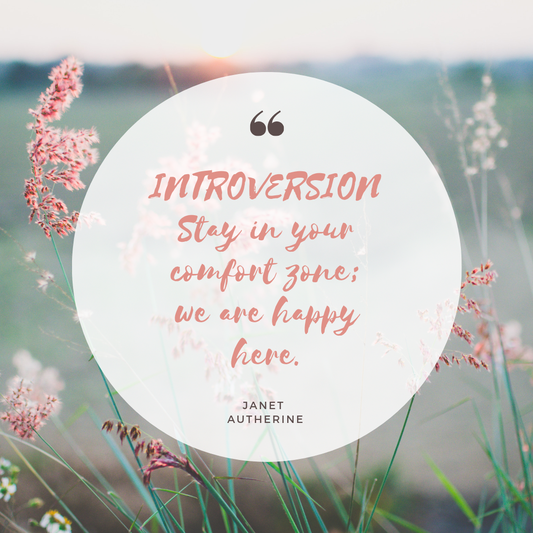 INTROVERSION Stay in your comfort zone; we are happy here..png