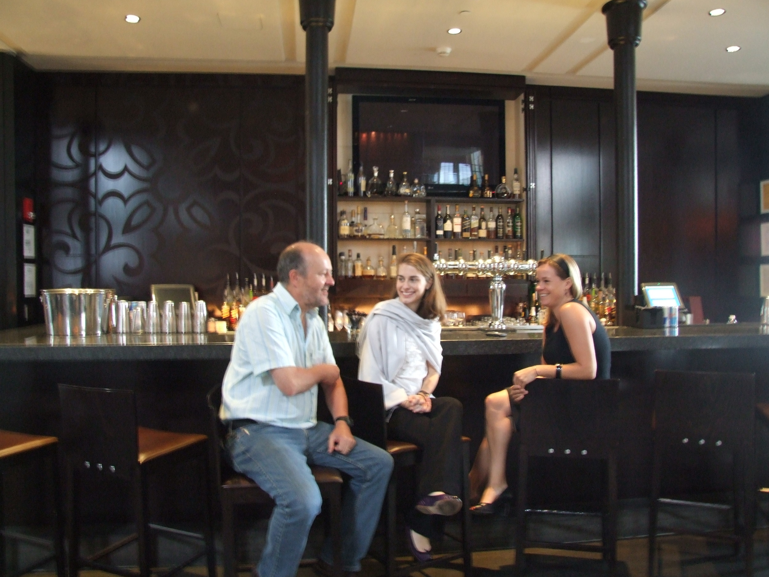 Earl Storey interviews Manager of The Liberty Hotel (Boston) for Irish News article