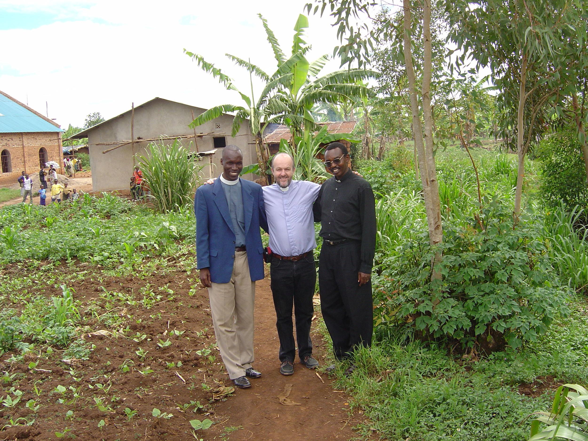 Earl Storey - Delivering Peace Building Training in Rwanda