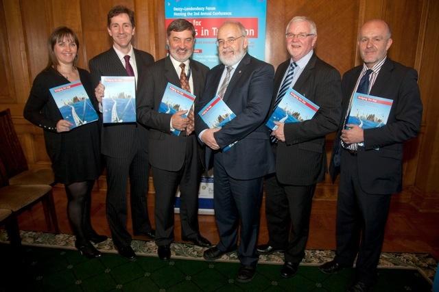Lord Alderdice & Deputy Speaker - Stormont launch of 'Bridging the Gap'
