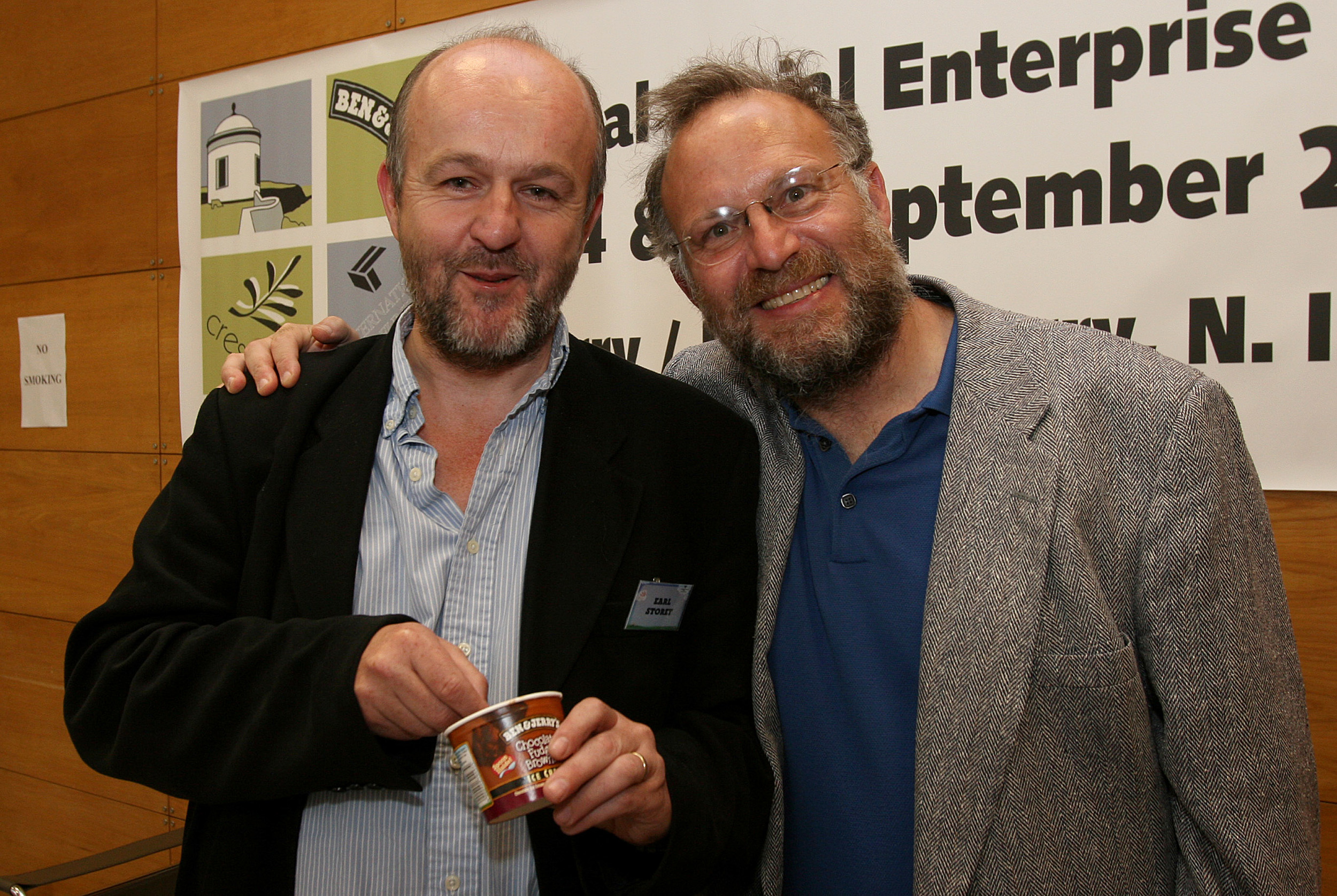 Earl Storey interviews Jerry Greenfield (Ben & Jerry's) on Leadership