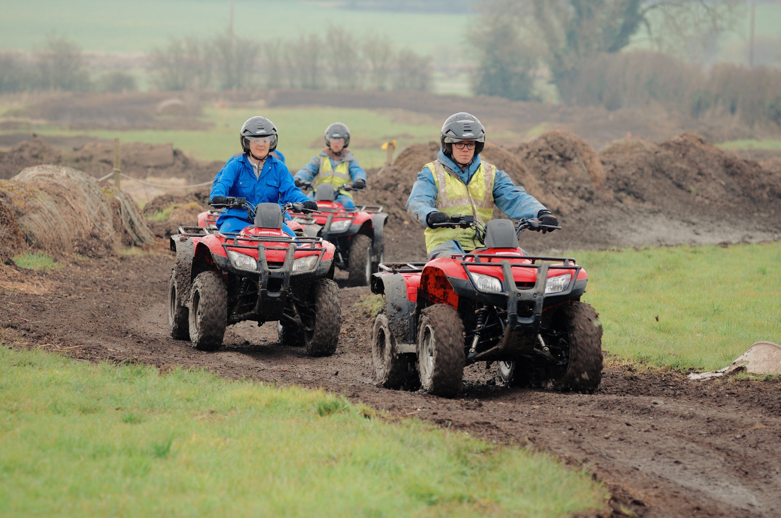 Track Riding with Easi Qualified ATV instructors