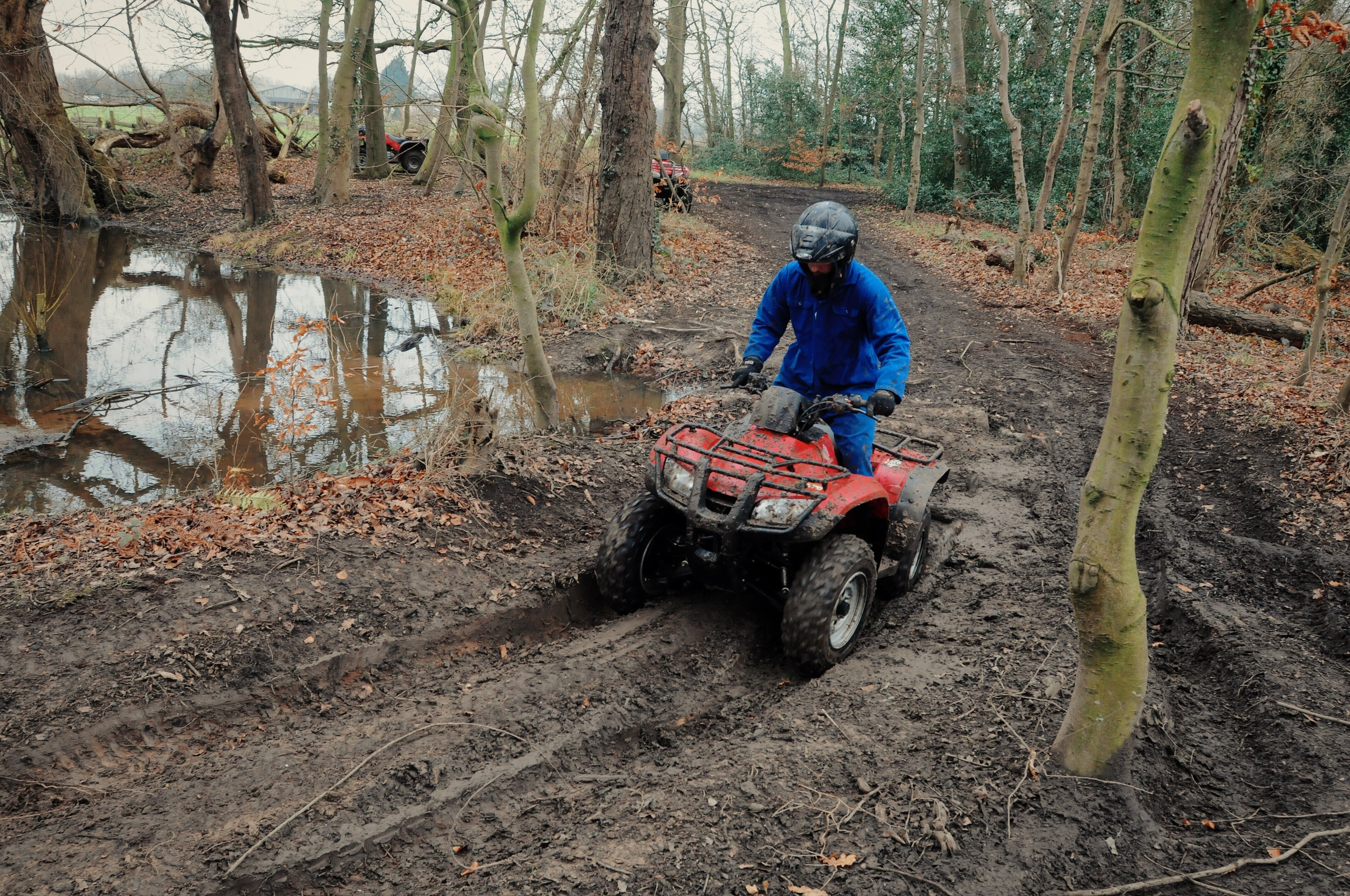 Hill Climbs on our Quad adventure days