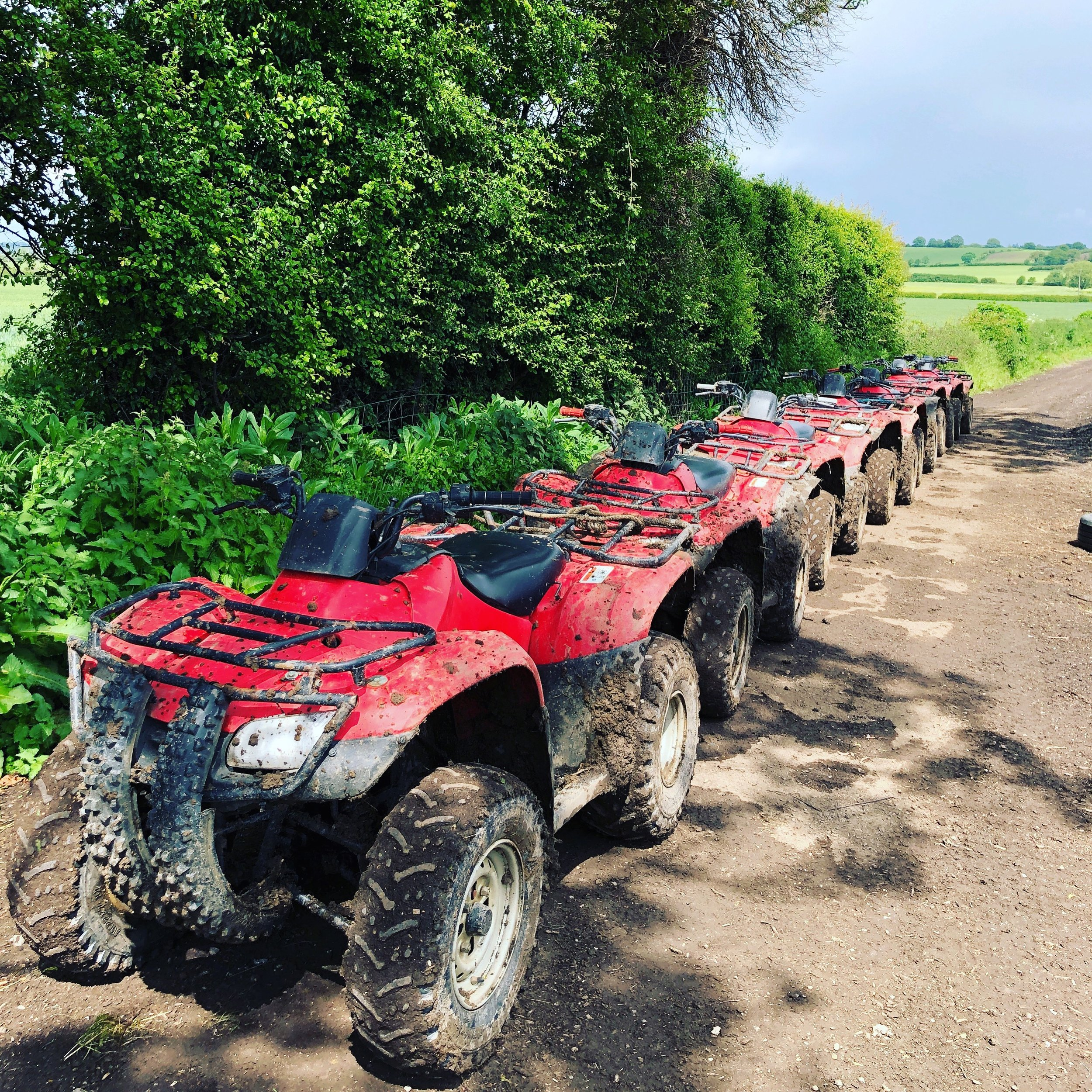 Quad Adventures - Instructor led Quad Biking through different terrain and trails for family days out or groups