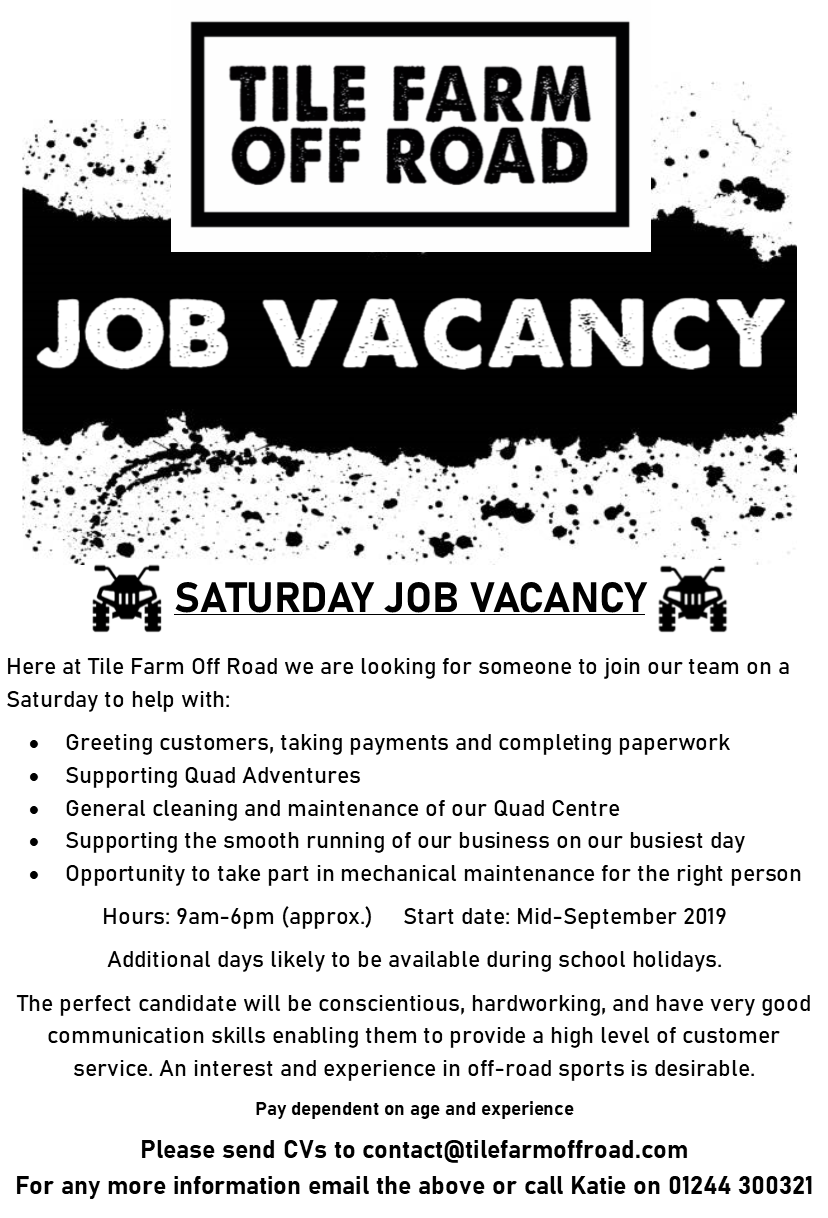 Saturday Job Vacancy.png
