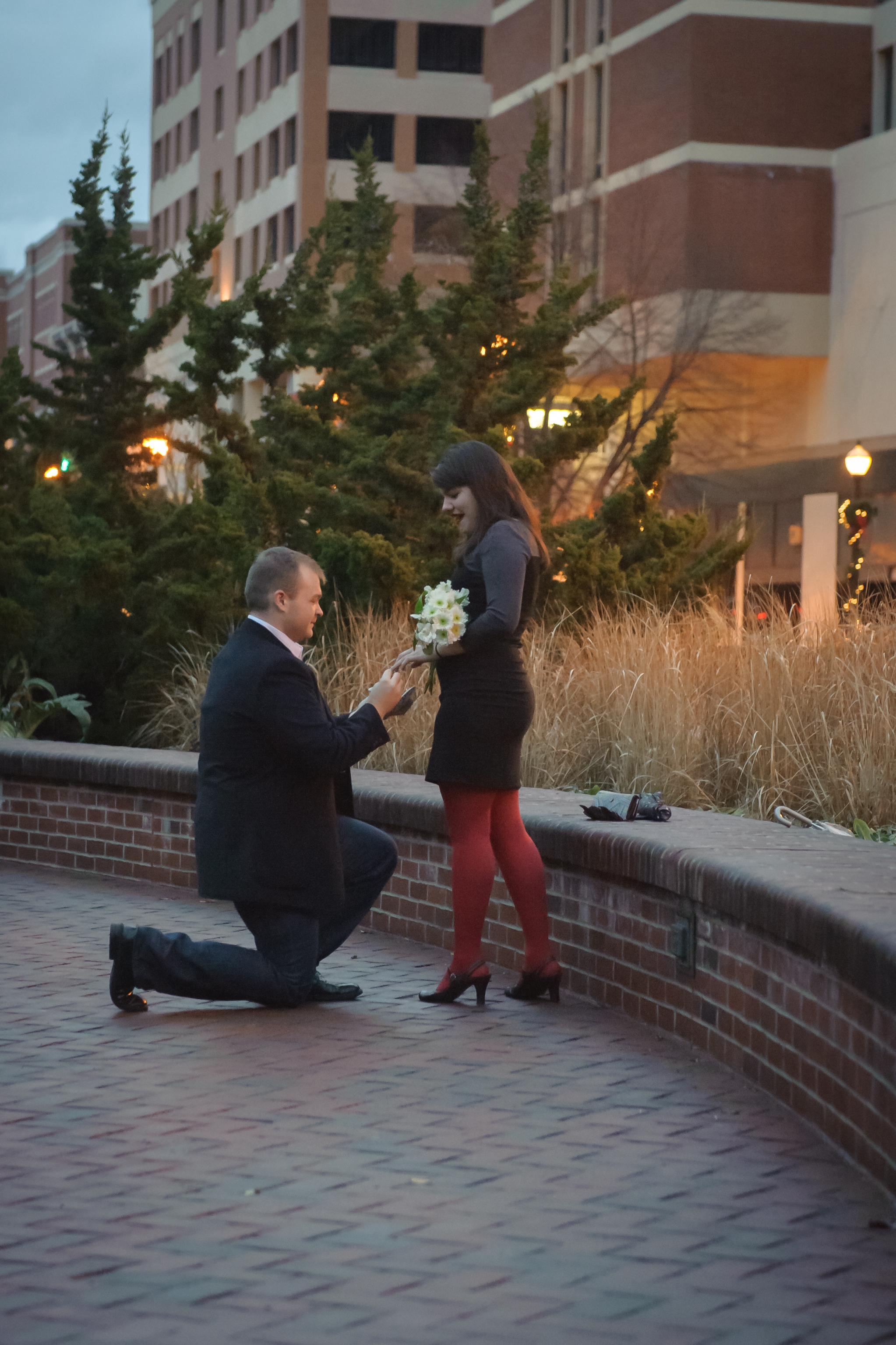 "She Said ""YES""!"