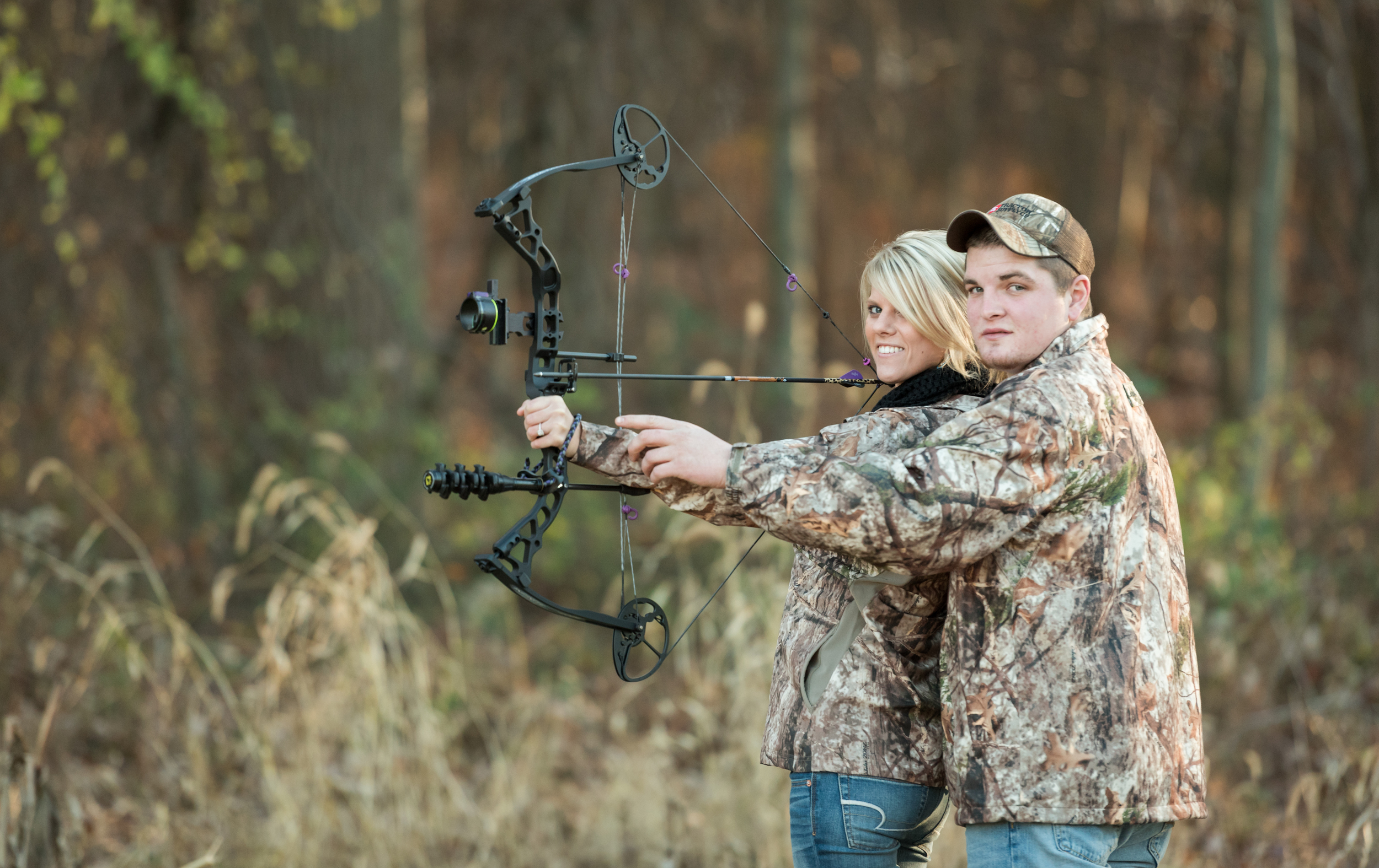 outdoor-hunting-lancaster-engagement-photo