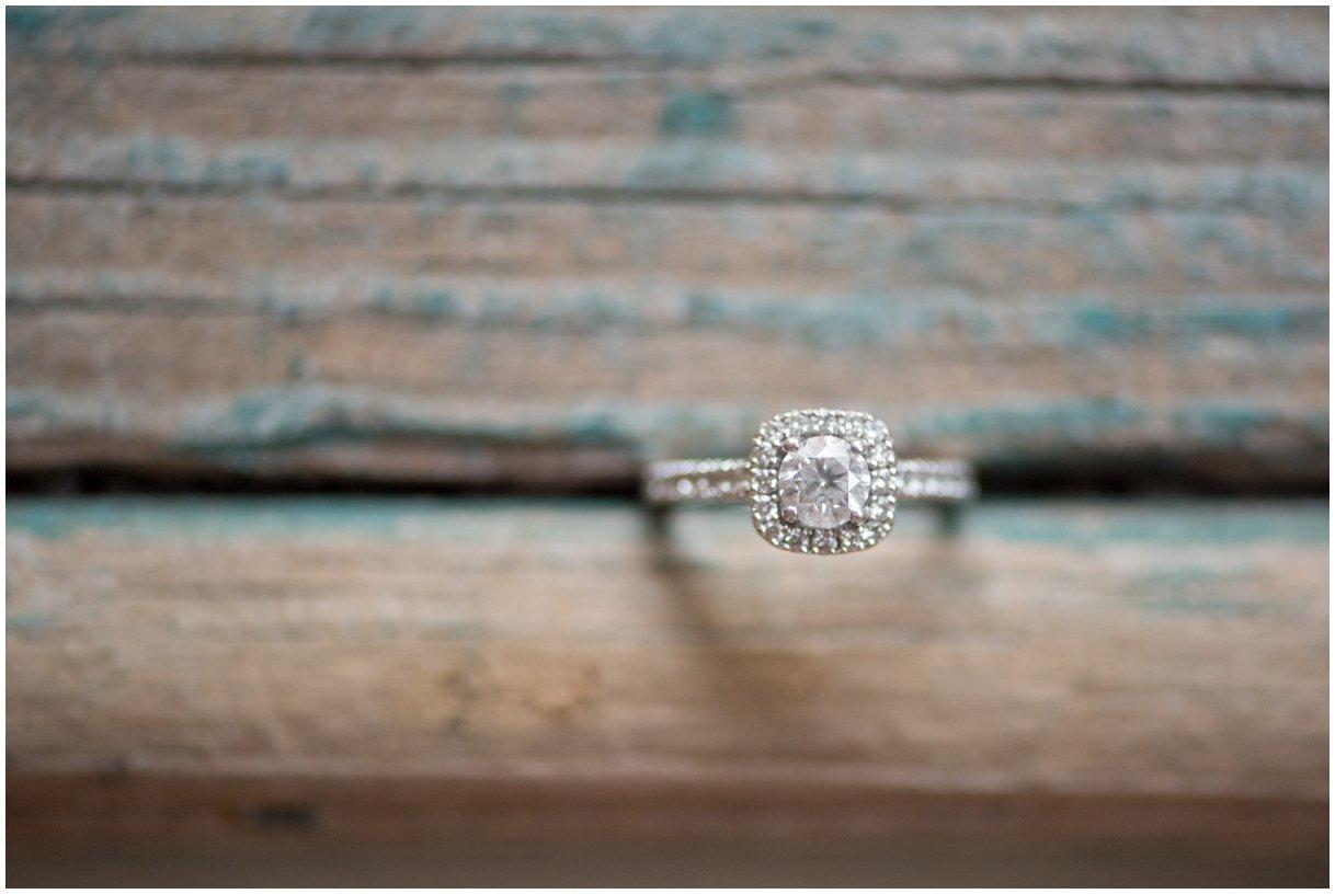 lancaster farm engagement ring details photo