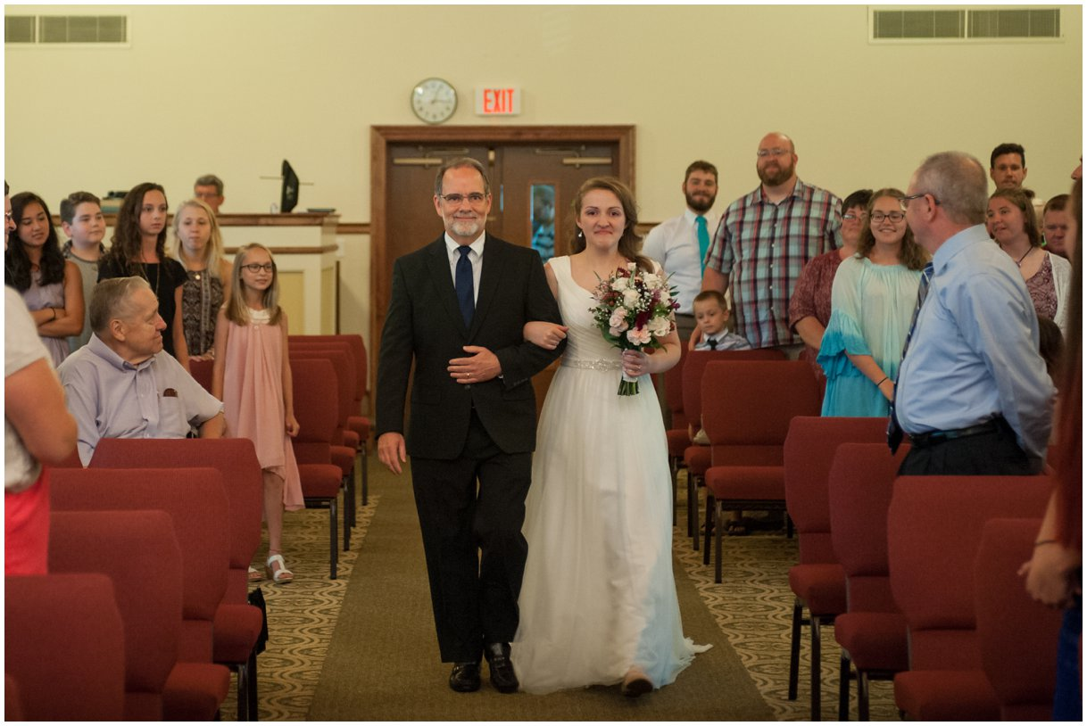 Lancaster Pa Wedding day Grace Church Wedding Ceremony photo