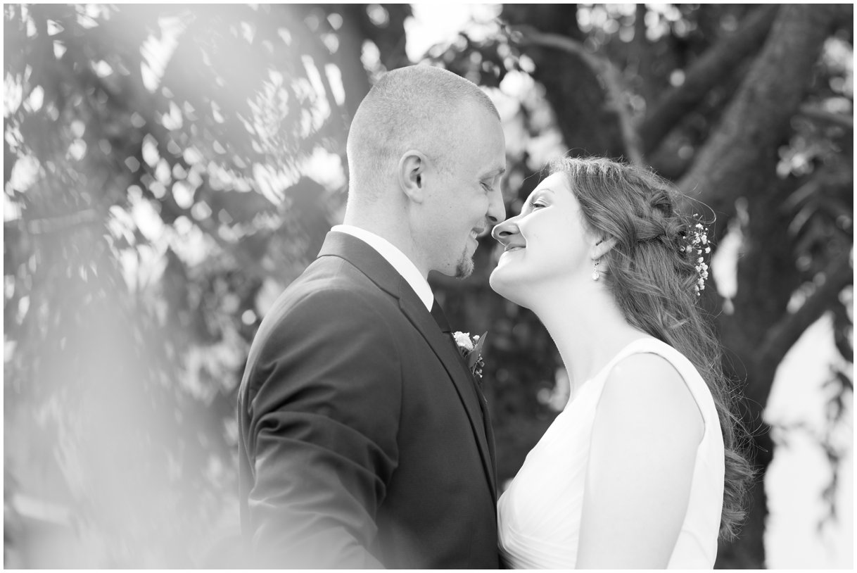 Lancaster Pa Wedding day Grace Church Willow Street Bride and Groom portrait photo