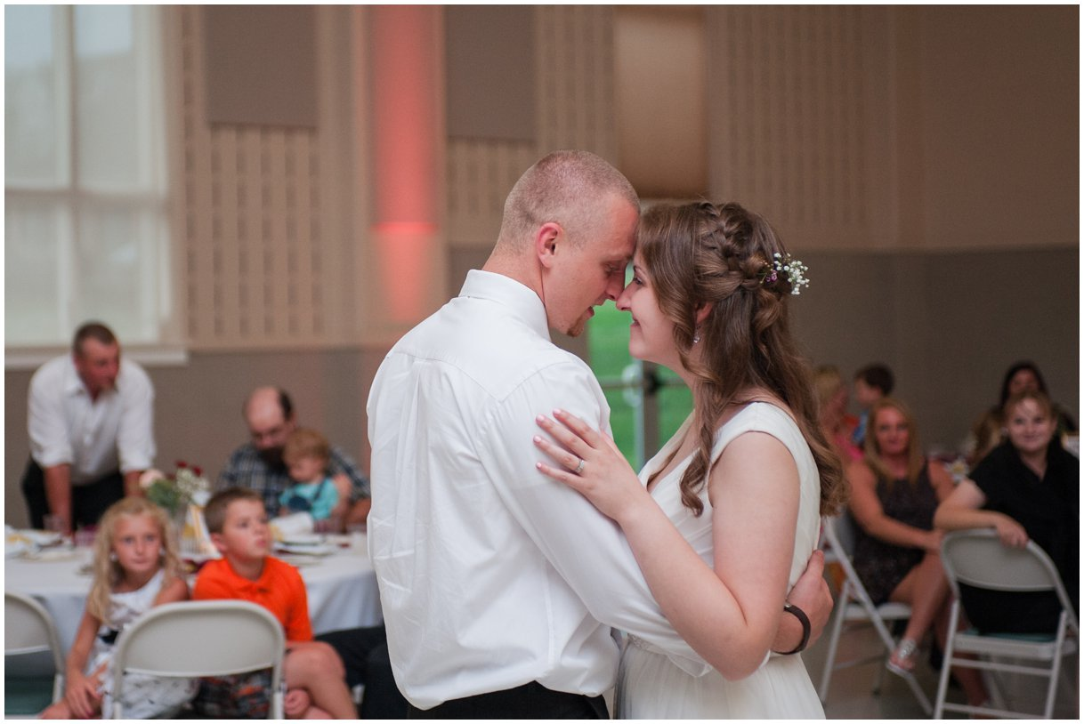 Lancaster Pa Wedding day Grace Church Willow Street Reception Details photo