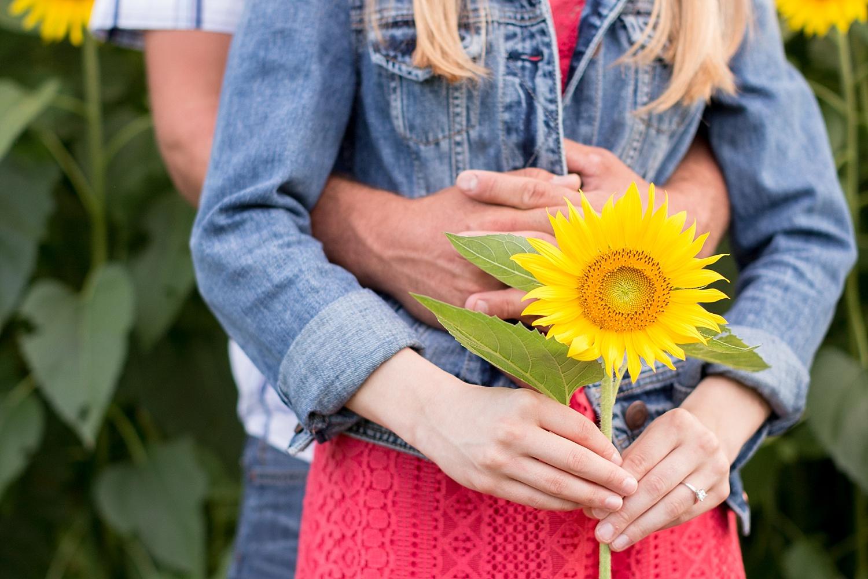 Romantic engagement session in sunflower field lancaster pa wedding photographer photo_0004.jpg