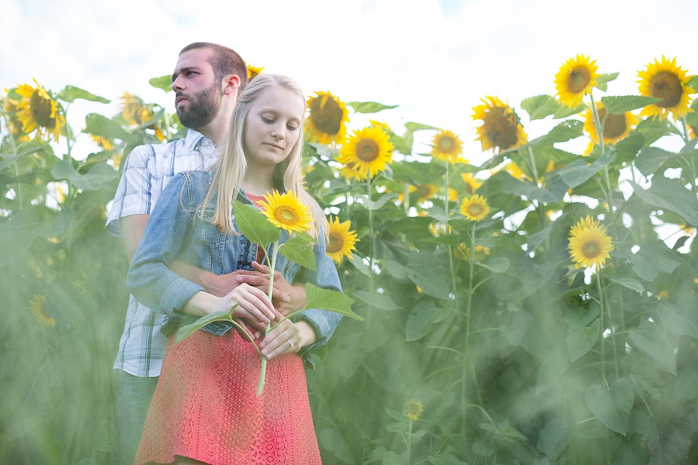 Romantic engagement session in sunflower field lancaster pa wedding photographer photo_0003.jpg