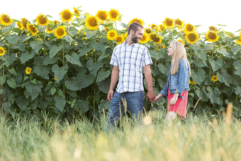 Romantic engagement session in sunflower field lancaster pa wedding photographer photo_0014.jpg
