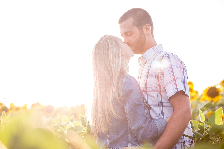 Romantic engagement session in sunflower field lancaster pa wedding photographer photo_0009.jpg