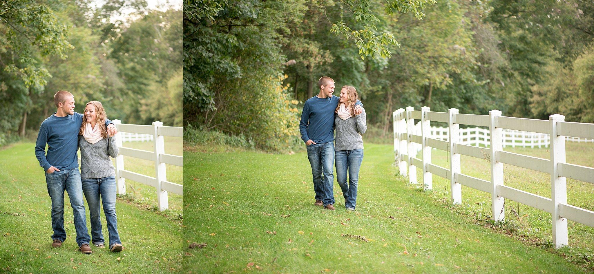 Shallowbrook Farm engagement session Lancaster PA wedding photography photo