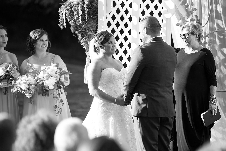 Historic Rockford Plantation wedding celebration in the meadow Lancaster Wedding photographer photo