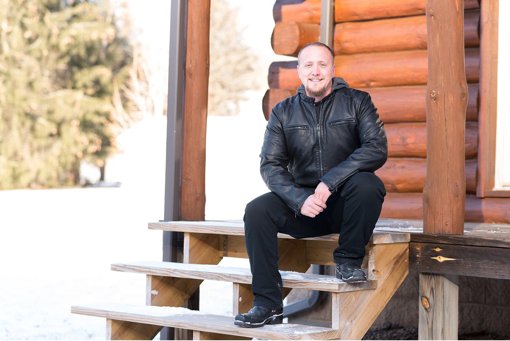 Winter elopemen snow covered vow exchange Coudersport PA photo_0570.jpg