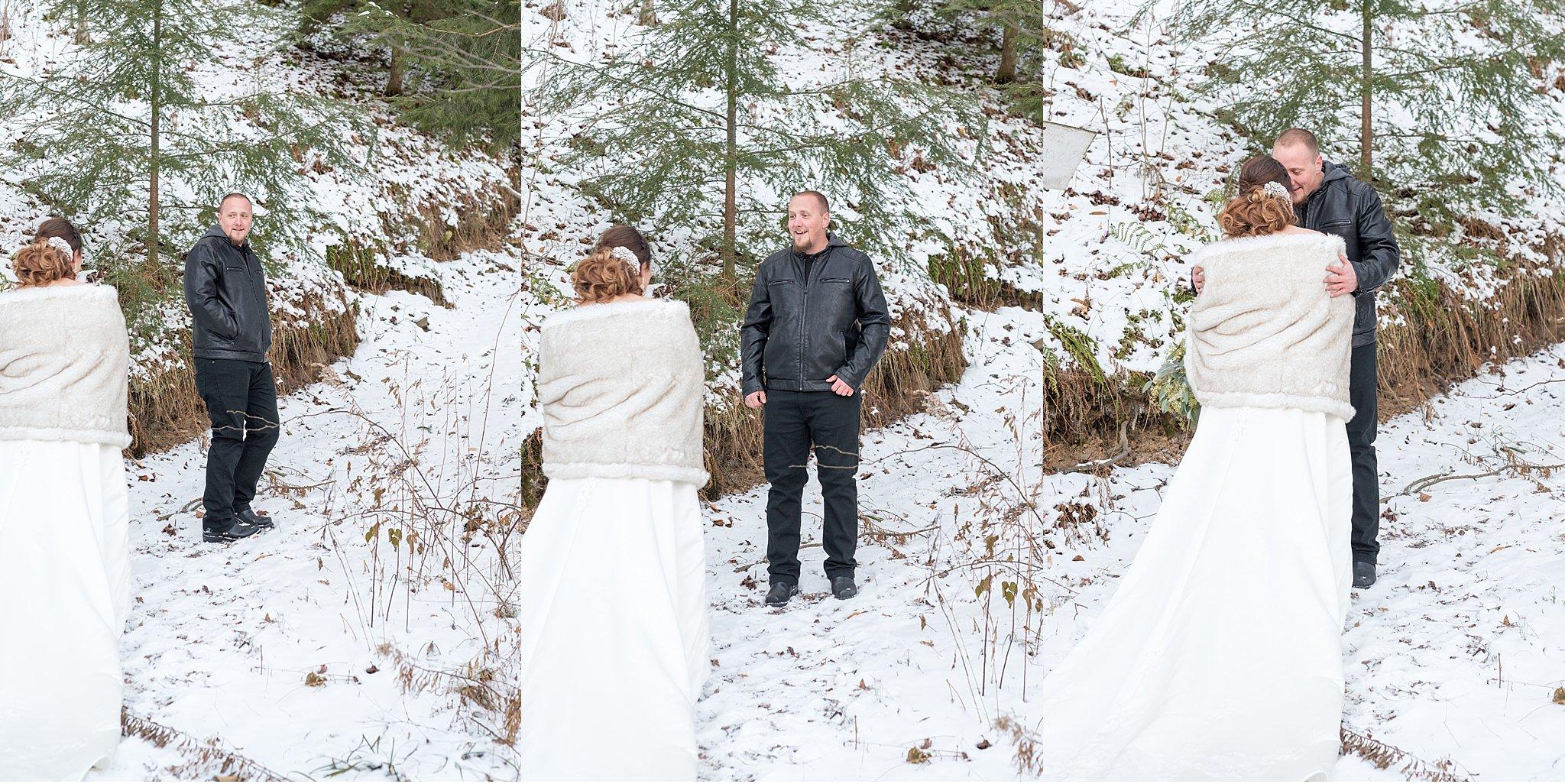 Winter elopemen snow covered vow exchange Coudersport PA photo_0586.jpg