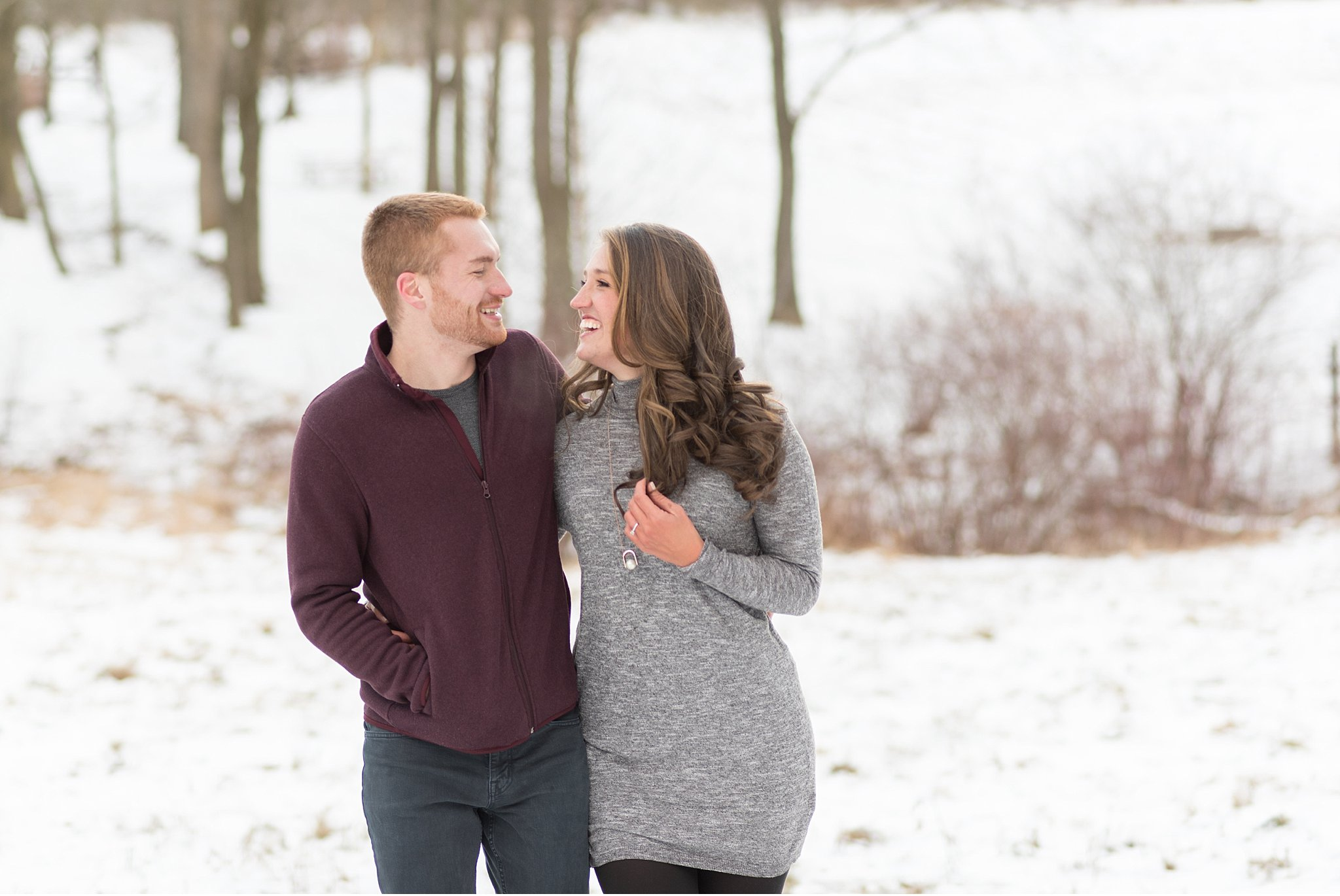 Winter  snow covered engagement Wolf's Hollow Park Atglen Pa wedding photography photo_0643.jpg