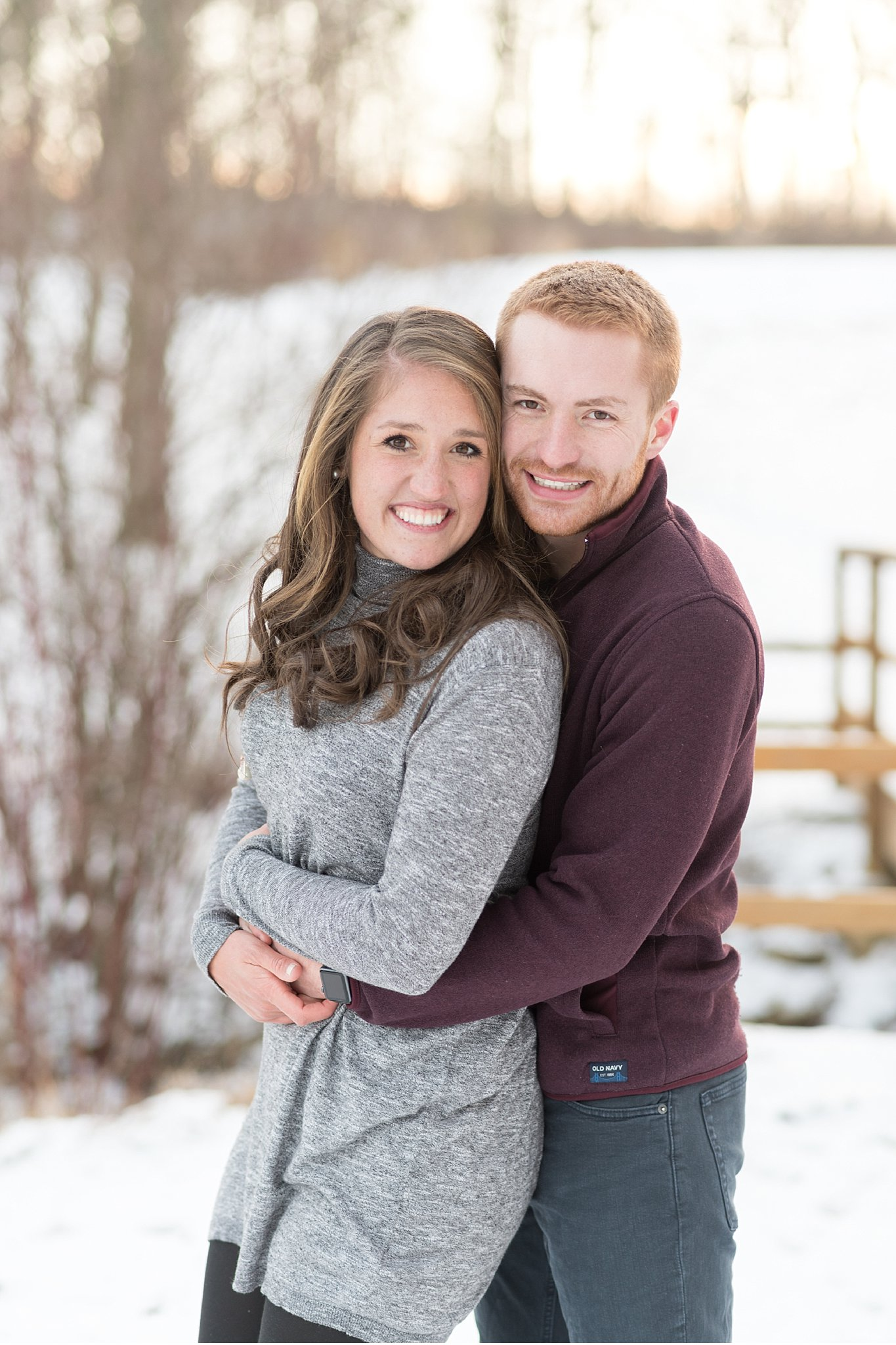 Winter  snow covered engagement Wolf's Hollow Park Atglen Pa wedding photography photo_0646.jpg