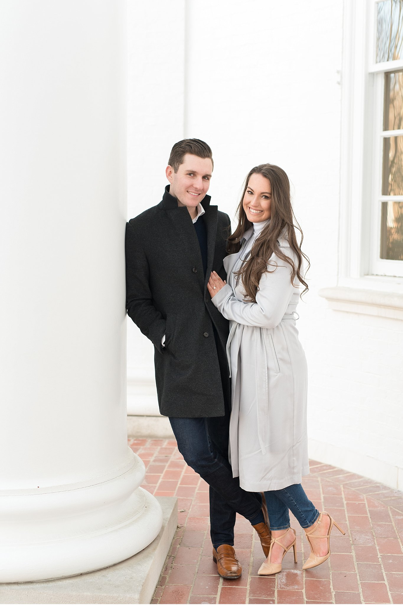 University of Delaware golden sun engagement session wedding photography photo