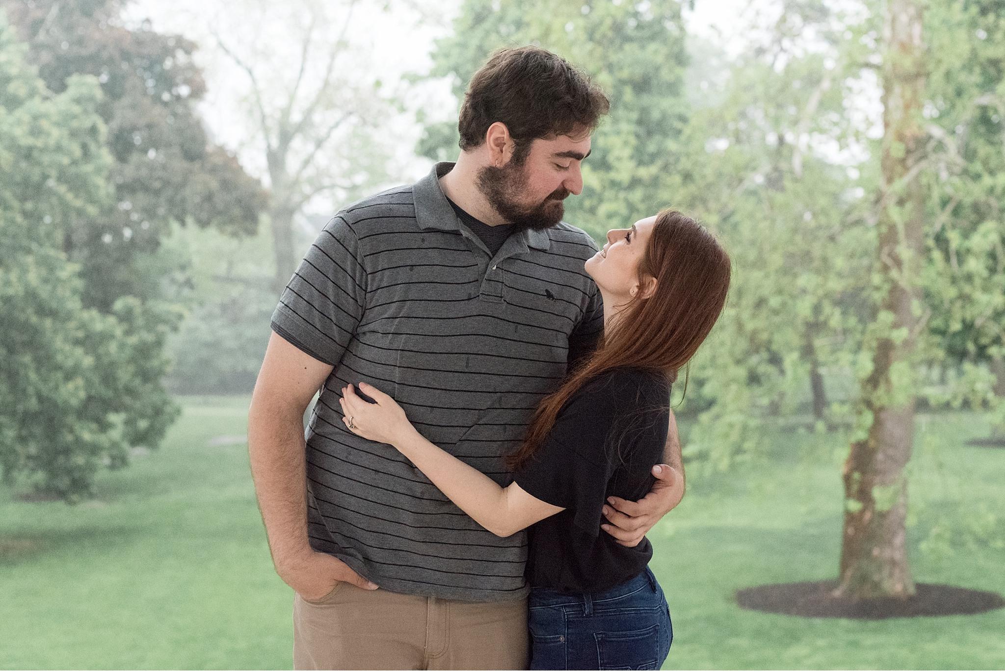 Rainy spring engagement session Gettysburg College Campus Wedding Photography Photo_1492.jpg